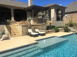 Formal Pools #005 by Pond Springs Custom Pools
