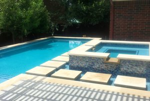 Formal Pools #010 by Pond Springs Custom Pools