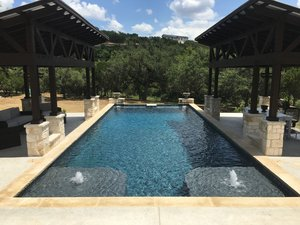 Formal Pools #013 by Pond Springs Custom Pools