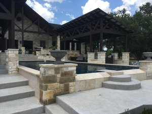 Formal Pools #014 by Pond Springs Custom Pools